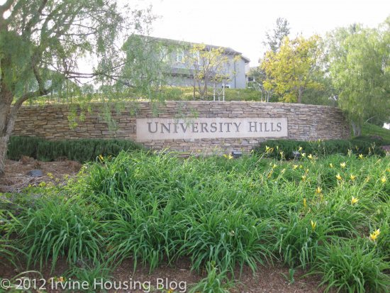 University Hills, Irvine, California - The Neighborhood of University Hills | Irvine Housing Blog - Feb 22, 2012 ... University Hills is the University of California, Irvine's campus housing community   for individuals holding full time employement at UCI. Seeing ...