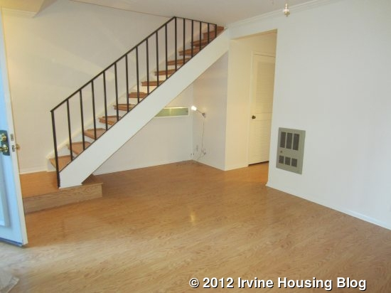 Open Log Stairs: Open House Review: 8 Springfield