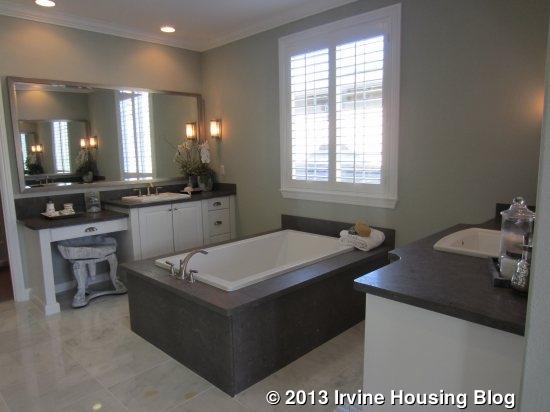 Master Bathroom No Door november | 2013 | irvine housing blog